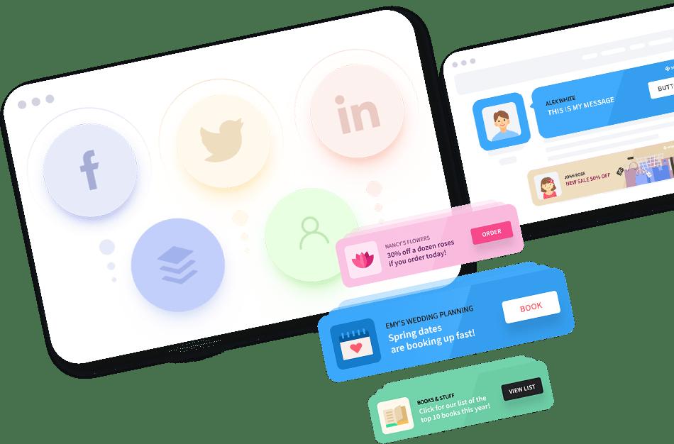 Affiliate link tracking across platforms